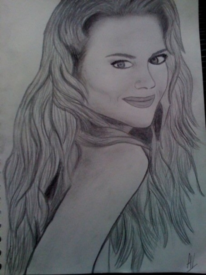 Nicole Kidman by Aurianne